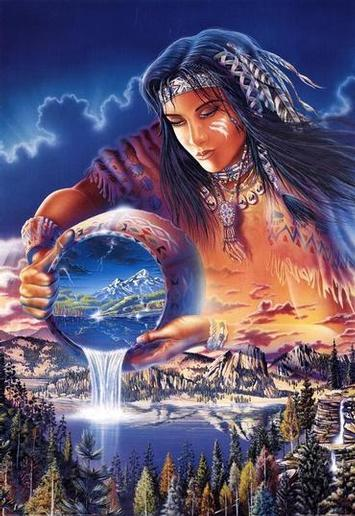 Native american mythology gods and goddesses