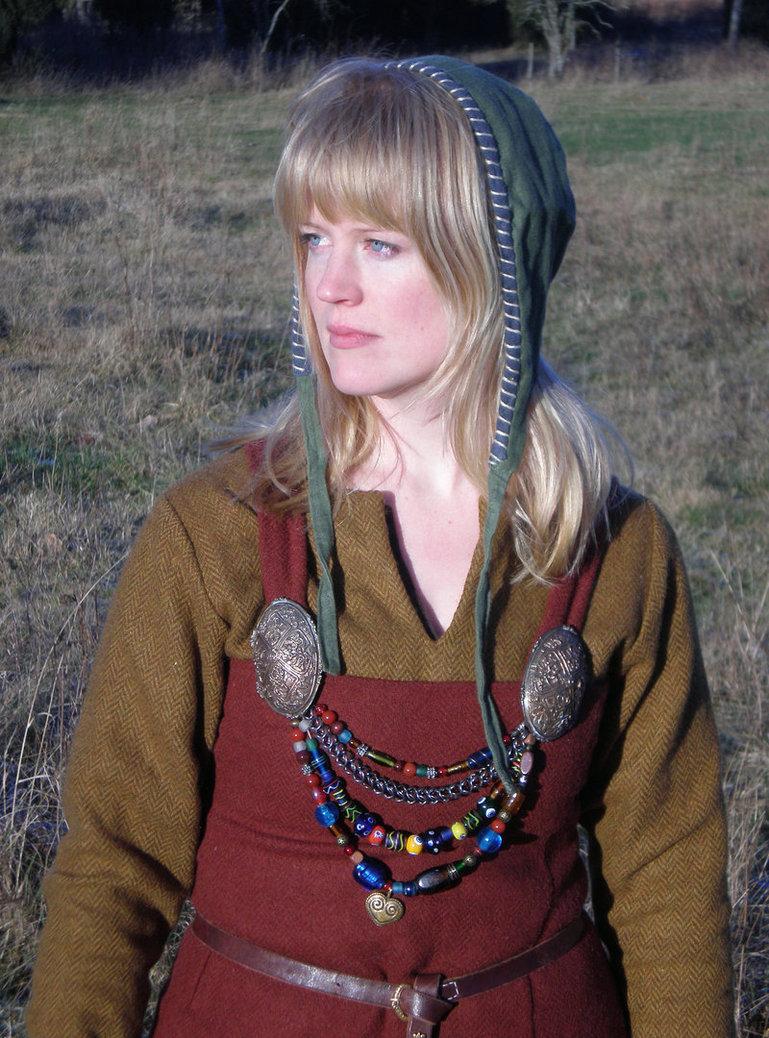 vikingwomanbyvendelrus metal gaia