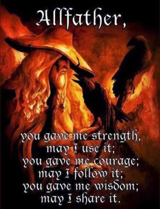 prayer to the allfather metal gaia